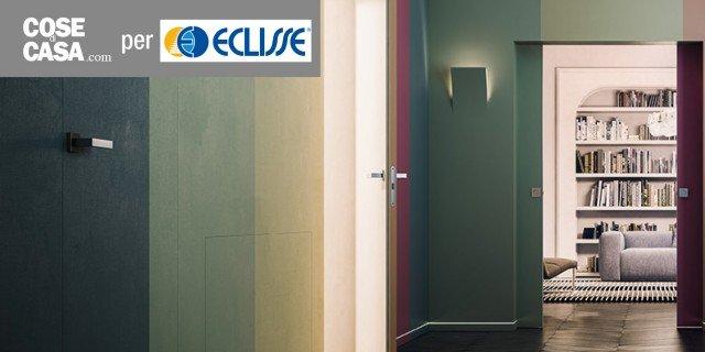 Porte a scomparsa e filo muro: Syntesis Collection di Eclisse