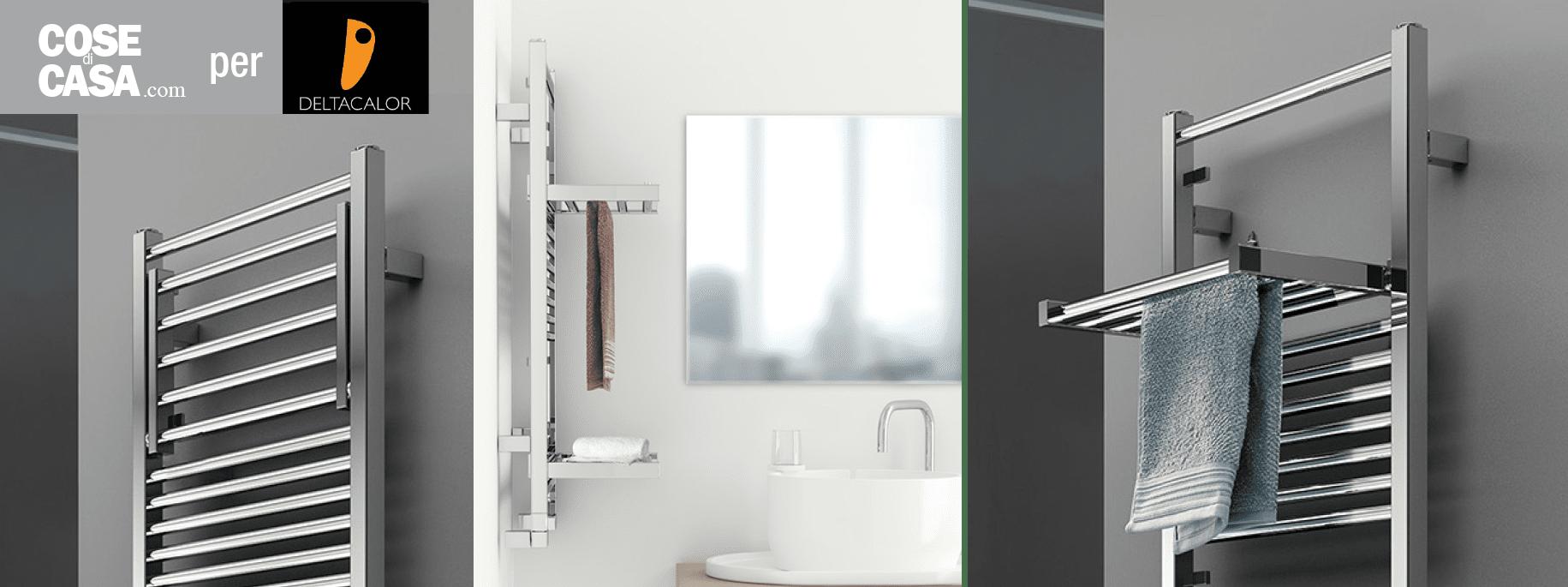 Lo scaldasalviette di design che si trasforma in stendibiancheria cose di casa - Scaldasalviette da bagno ...