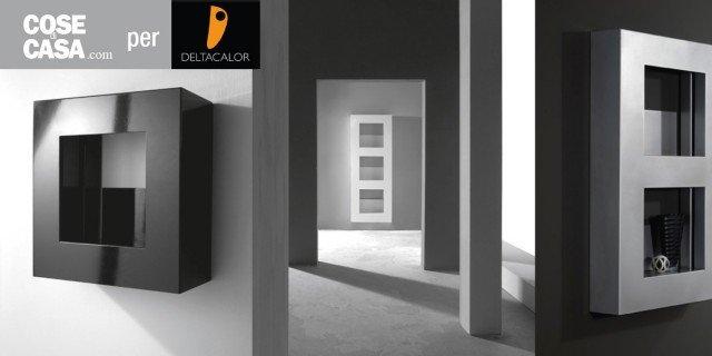 Cube, il radiatore multifunzione che scalda, contiene e illumina