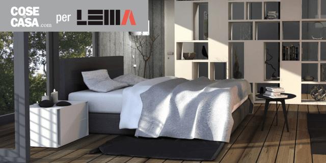 arredare la camera da letto: un progetto di interior design - cose ... - Camera Da Letto Rovere Sbiancato