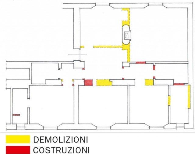 ispirazioni pavimento Patio : 110 mq: nuovo taglio per la casa depoca - Cose di Casa