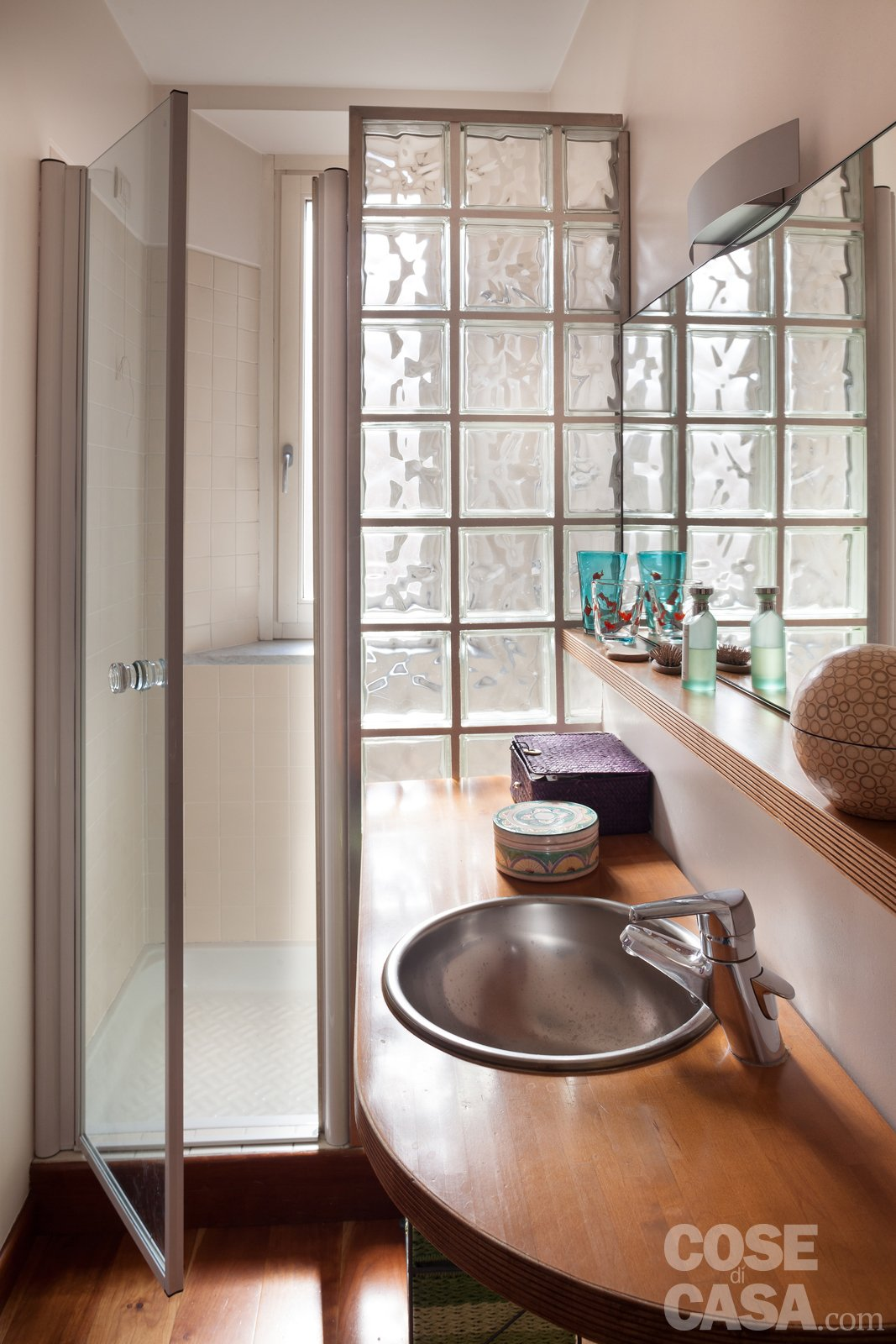 110 mq nuovo taglio per la casa d 39 epoca cose di casa - Finestra vetrocemento ...