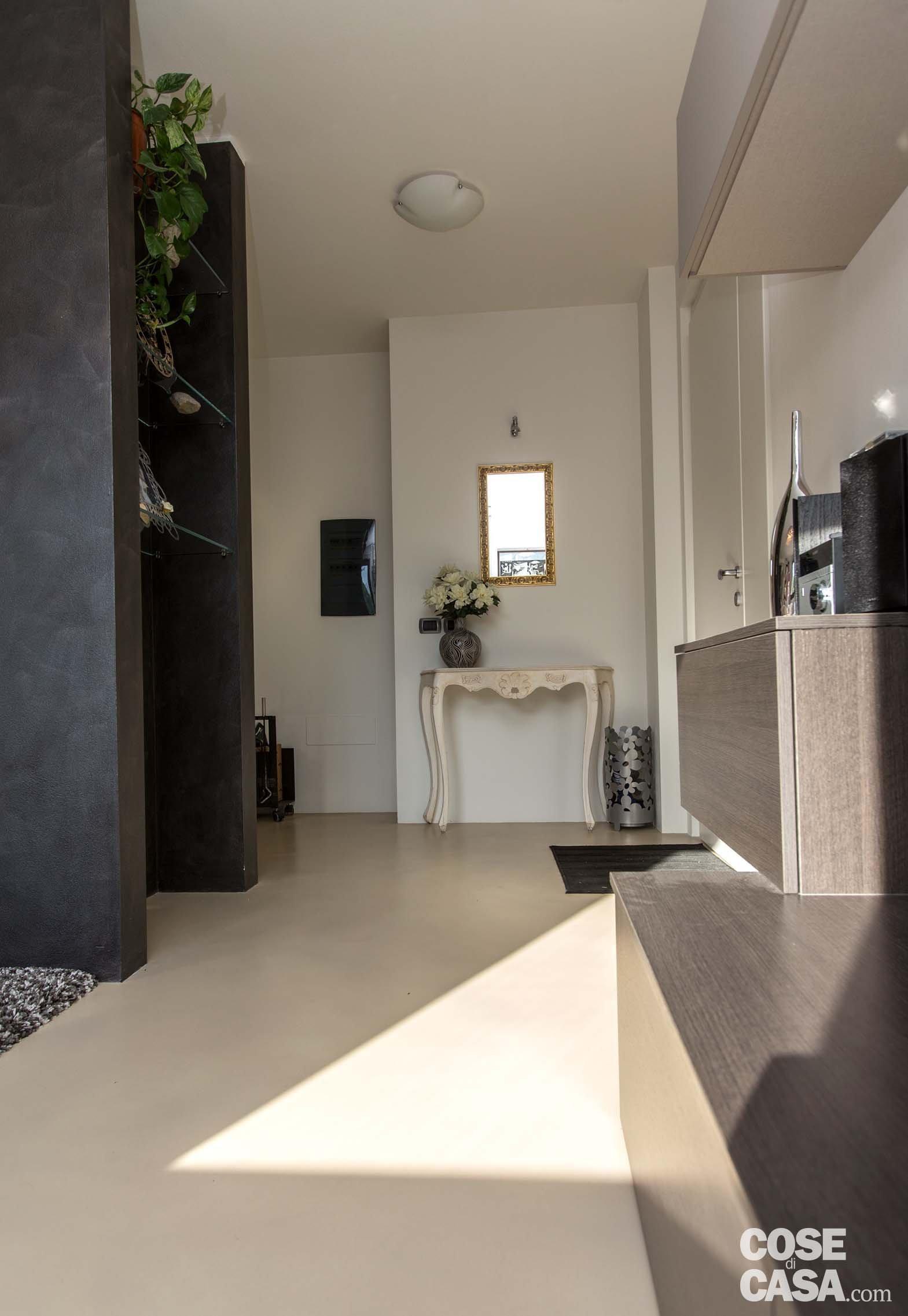 Una casa con zona giorno open space cose di casa for Piani di casa con ascensori