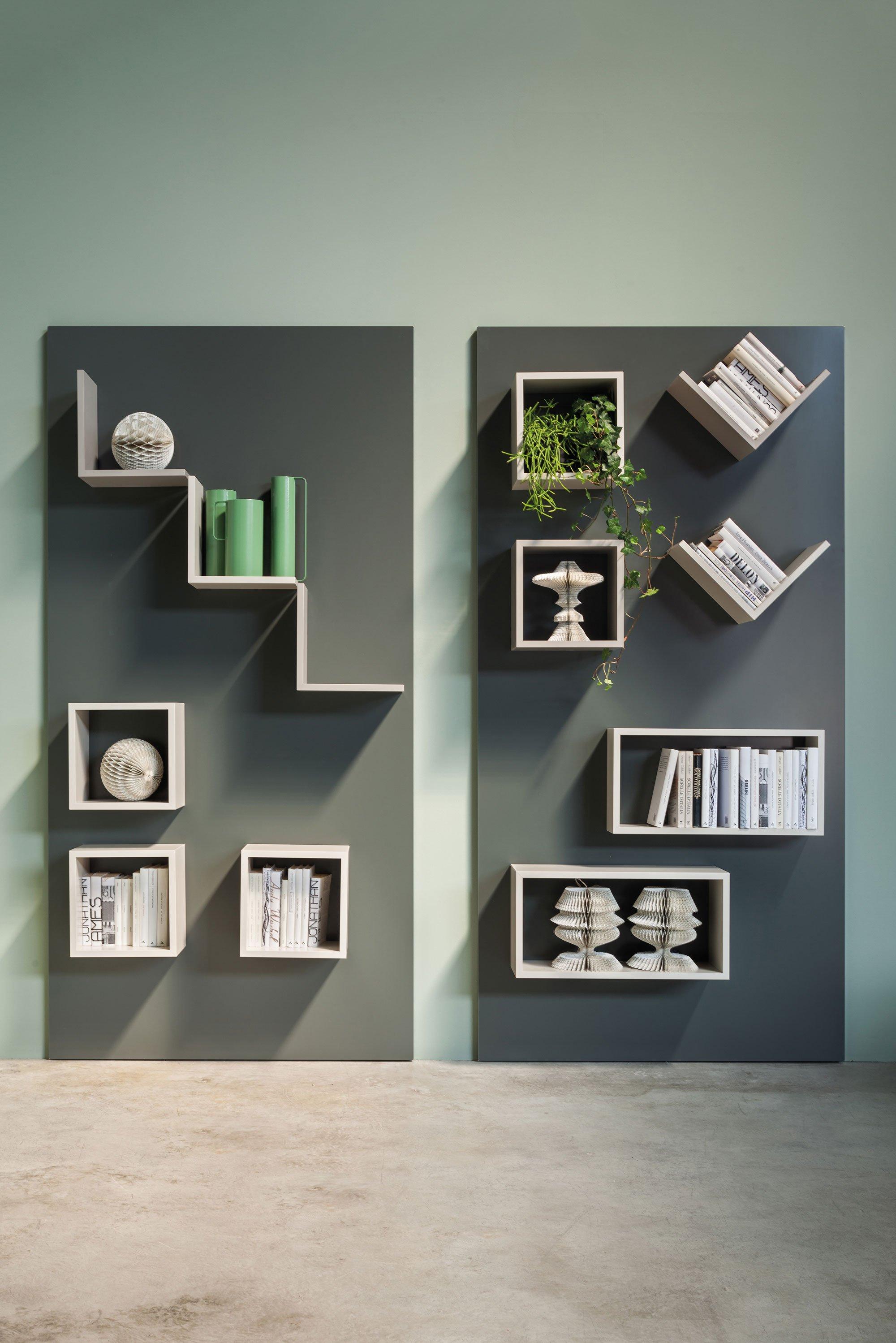 Mensole per arredare in modo easy ed economico cose di casa - Mensole da parete design ...