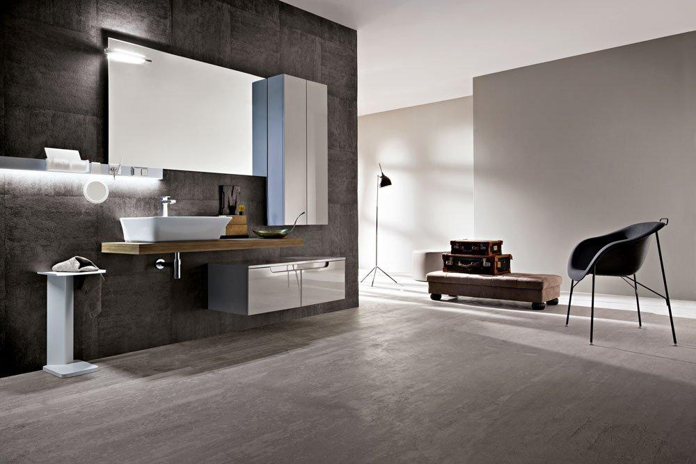 Lavabi d 39 appoggio su console per un bagno contemporaneo - Mobili bagno lavabo appoggio ...