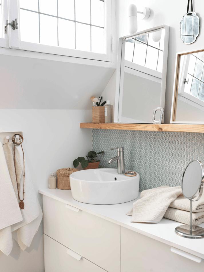 Lavabi rotondi piccoli o da usare anche accoppiati cose di casa - Piccoli specchi rotondi ...