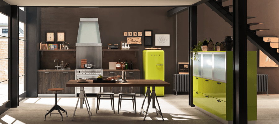 Awesome Cucine Stile Retrò Pictures - Ideas & Design 2017 ...