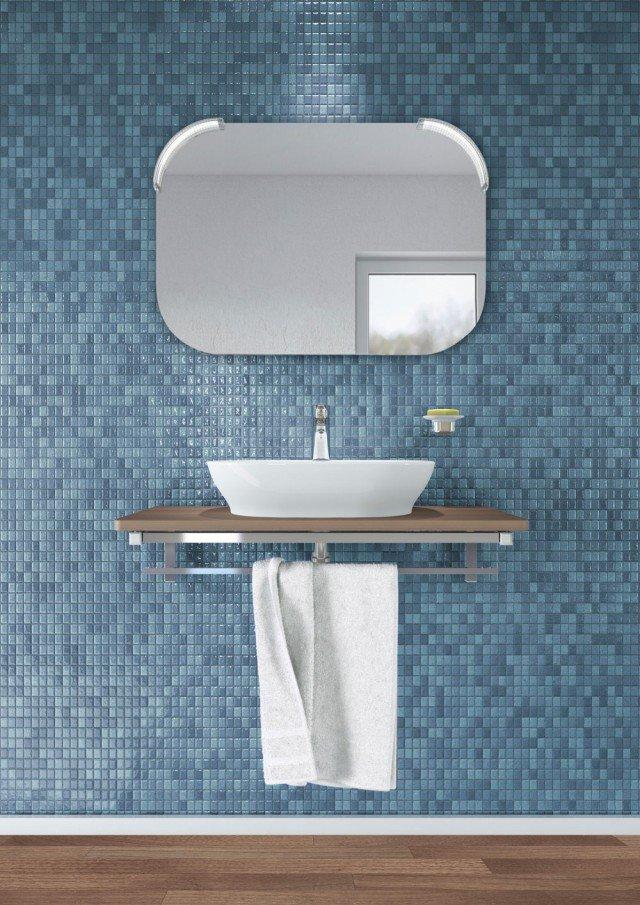 Lavabi d 39 appoggio su console per un bagno contemporaneo - Lavabi bagno ideal standard ...