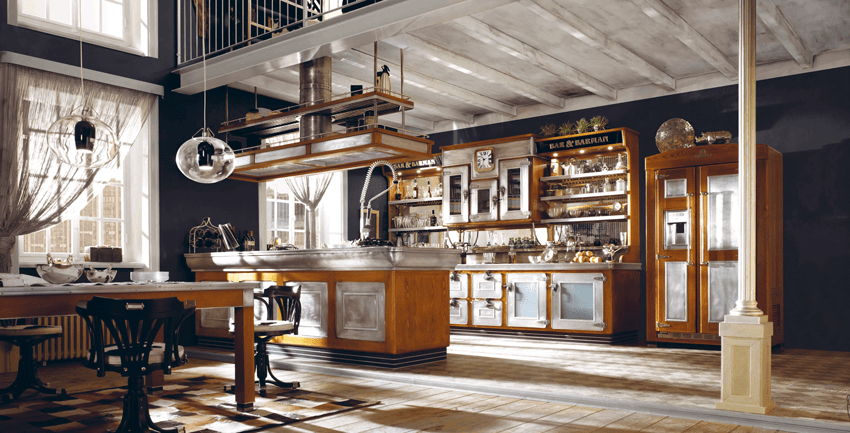 cucine vintage: per uno stile un po' rétro e un po' country - cose ... - Marche Cucine Economiche