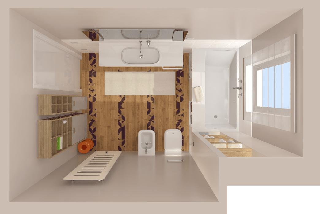 Ricavare il secondo bagno cose di casa - Vasca sotto finestra ...