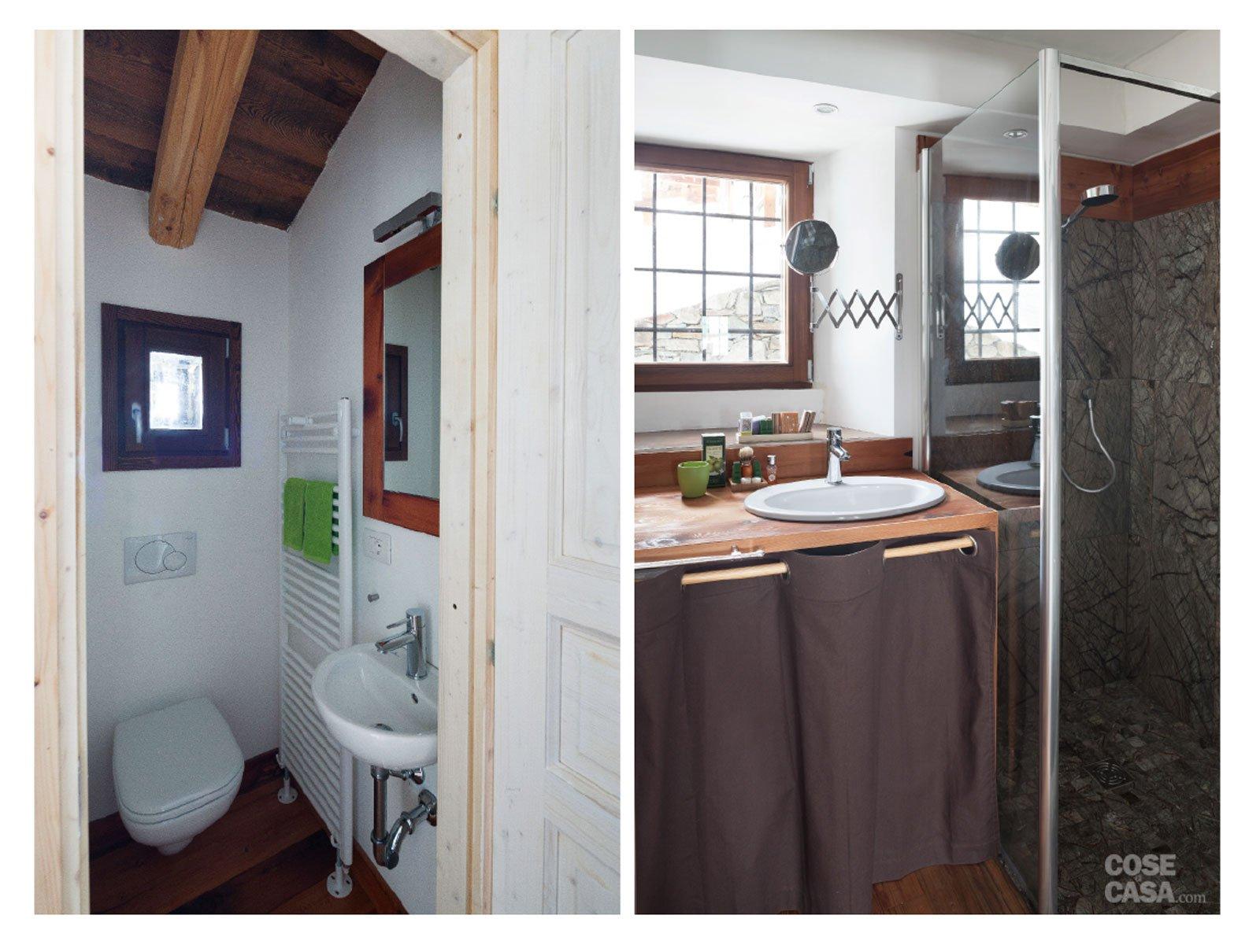 30 30 mq restauro di una tipica casa di montagna cose for Una casa con cornice libera