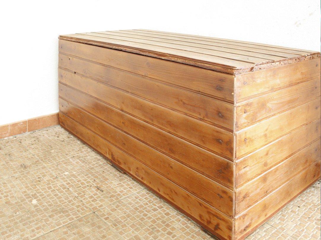 Panca contenitore fai da te design casa creativa e - Panca contenitore esterno ...