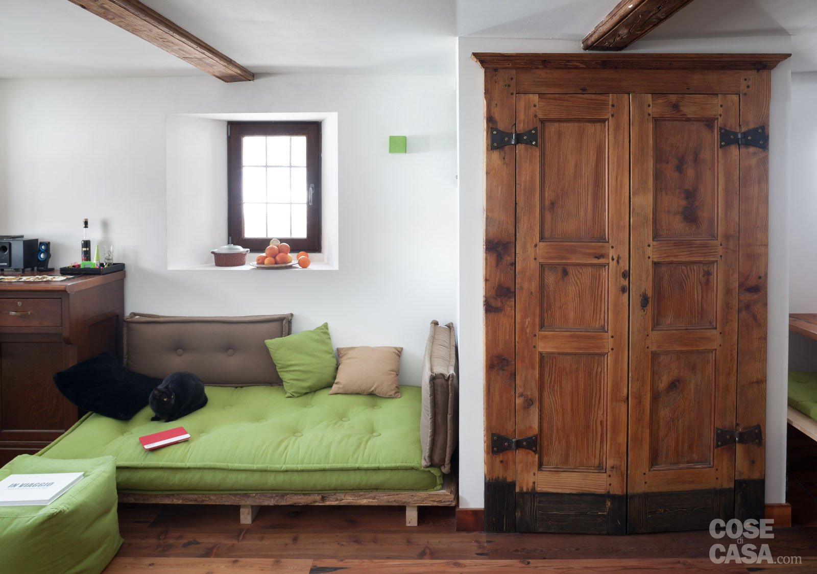 30 30 mq restauro di una tipica casa di montagna cose di casa - Casa ikea 50 mq ...