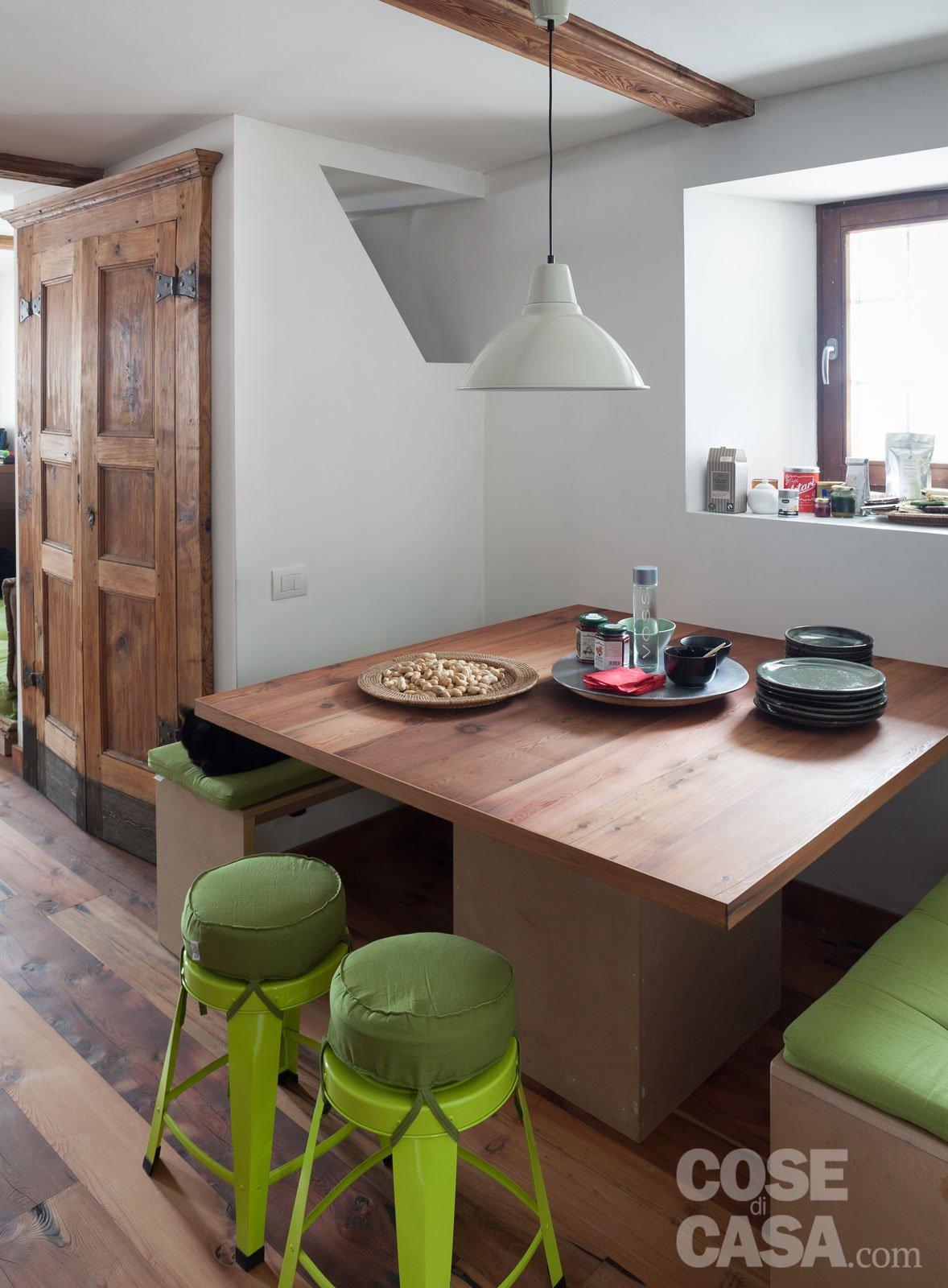 30+30 mq: restauro di una tipica casa di montagna - Cose di Casa