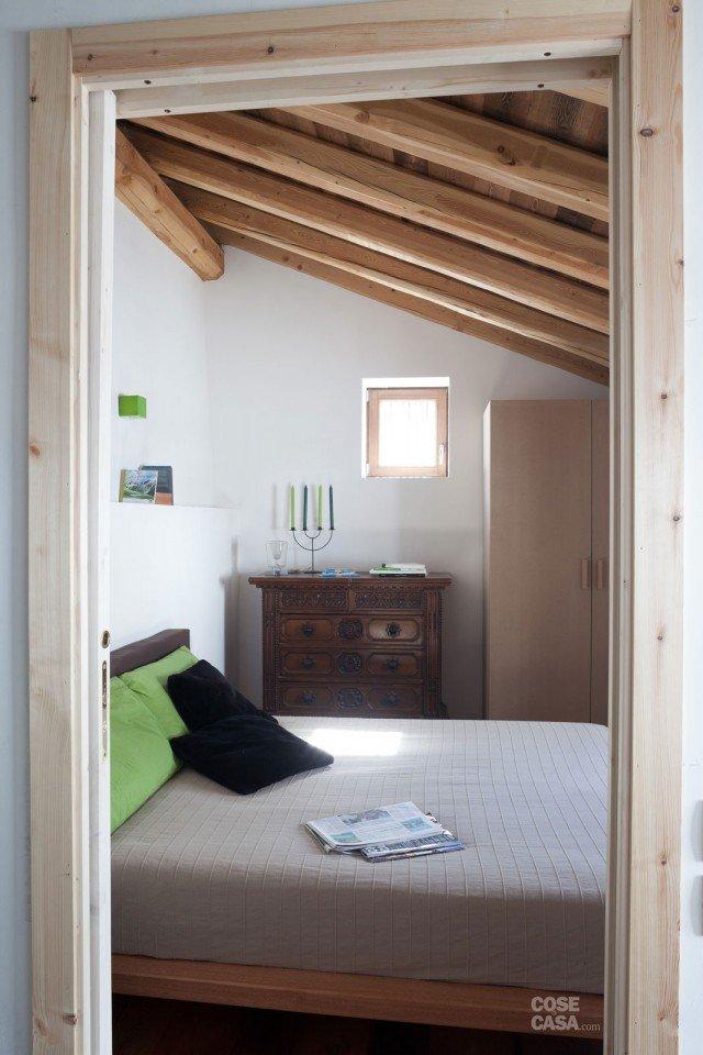 30 30 mq restauro di una tipica casa di montagna cose - Camere da letto di montagna ...