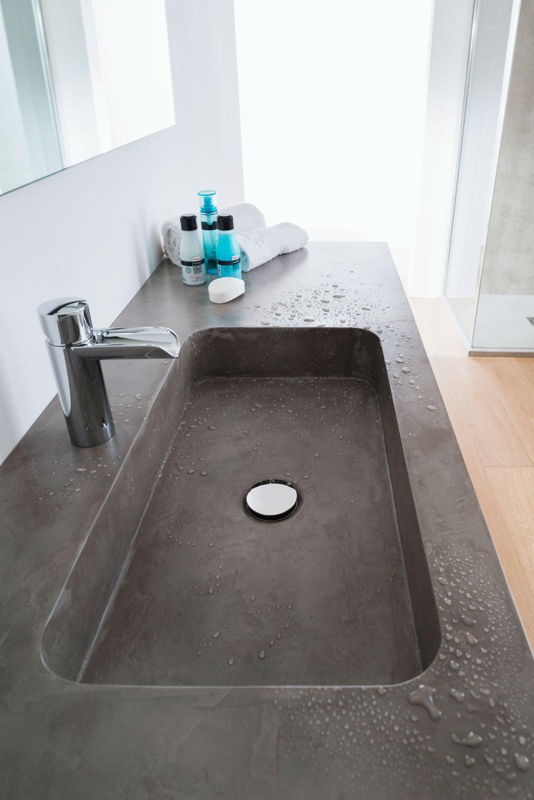Tendenze bagno malte e nuove malte effetto argilla - Spessore top cucina ...