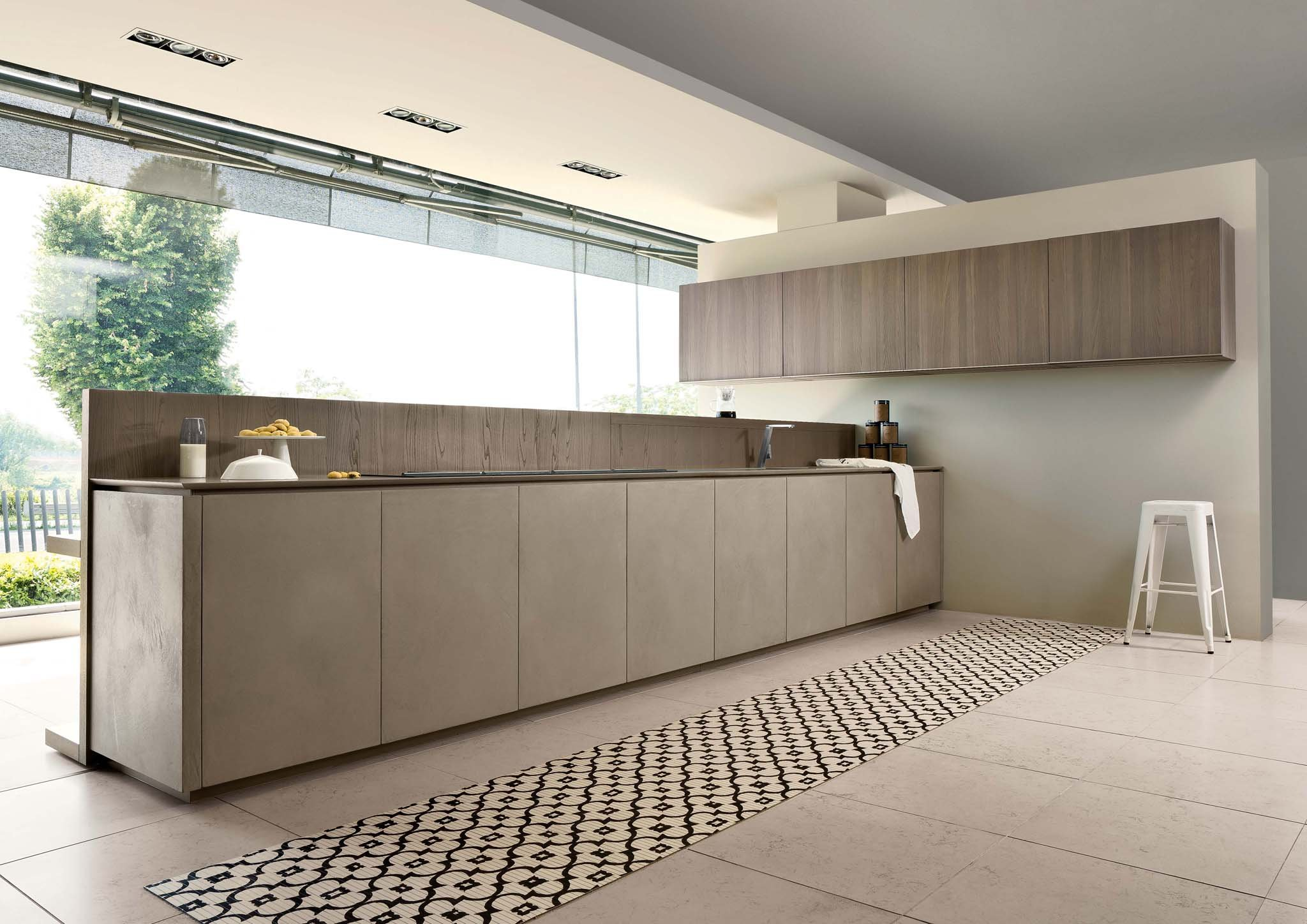 Cucine minimal ed essenziali cose di casa - Top cucina moderna ...
