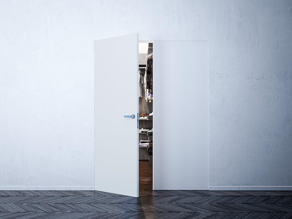 porte a scomparsa e filo muro syntesis collection di eclisse cose di casa. Black Bedroom Furniture Sets. Home Design Ideas