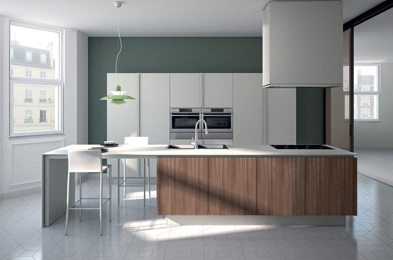 Cucine minimal ed essenziali cose di casa - Cucine ernestomeda immagini ...