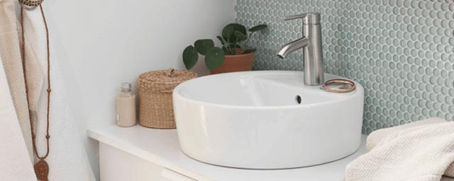 Lavabi rotondi: piccoli o da usare anche accoppiati