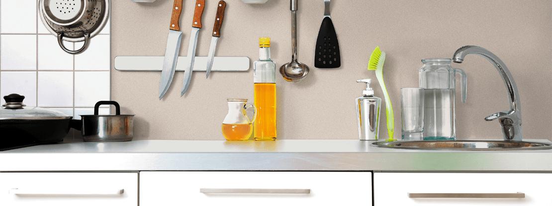 Rinnovare le pareti della cucina senza togliere le vecchie - Vernici lavabili per cucina ...