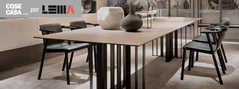 Tavoli e sedie per ambienti eleganti dal carattere for Tavoli contemporaneo design
