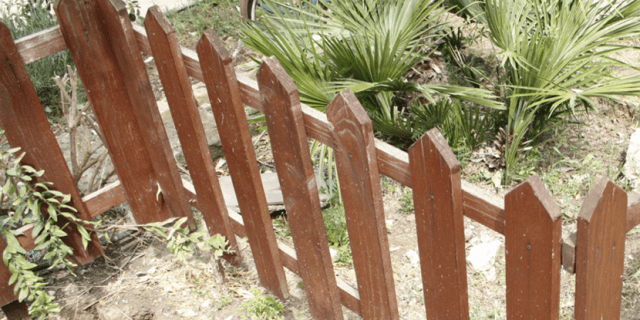 Costruire Una Recinzione In Legno Cose Di Casa
