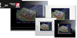 Sistema domotico DOMINAPlus di Ave: gestione e controllo semplici e veloci