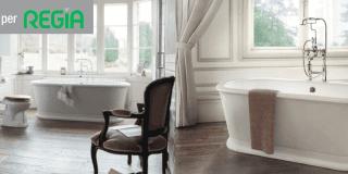 Bagno classico Old Style: da Burlington design, risparmio, tecnologia e qualità