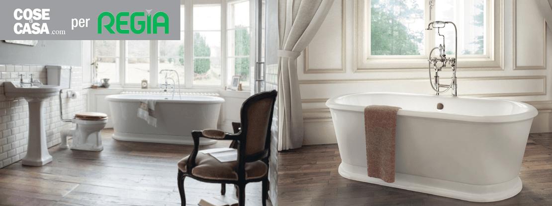 Bagno classico old style da burlington design risparmio - Regia mobili bagno ...