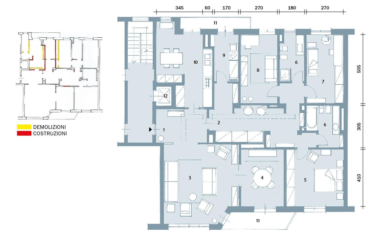 Una casa con passaggi ridimensionati e cucina pi grande for Progetti di costruzione di appartamenti