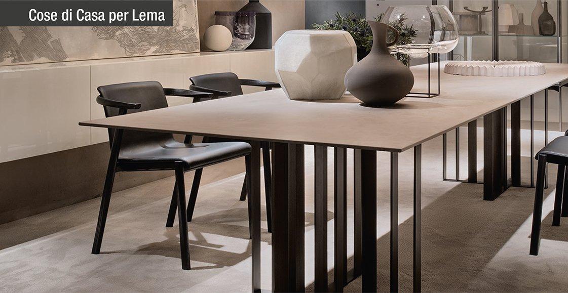 Tavoli e sedie per ambienti eleganti dal carattere for Sedie contemporanee