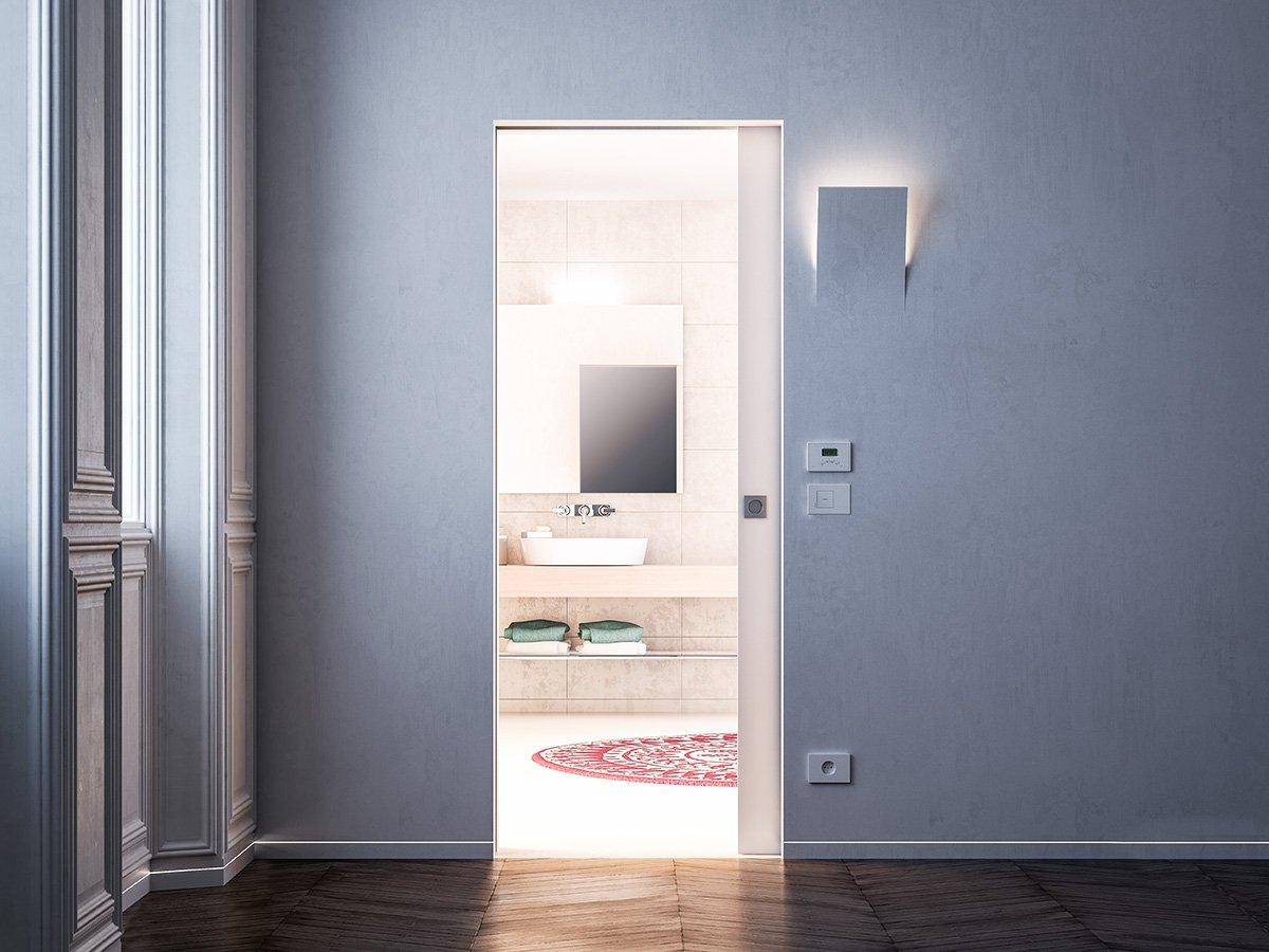 Porte a scomparsa e filo muro syntesis collection di - Porte interne a filo muro ...