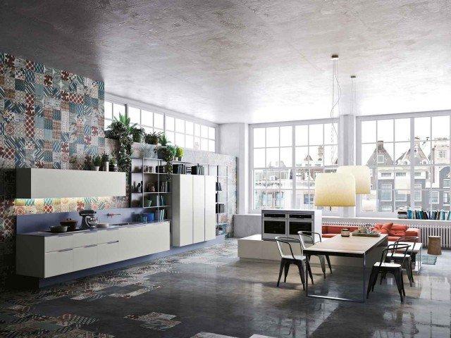 cucina salone unico ambiente foto: idee cucina soggiorno ambiente ... - Unico Ambiente Cucina Salone 2