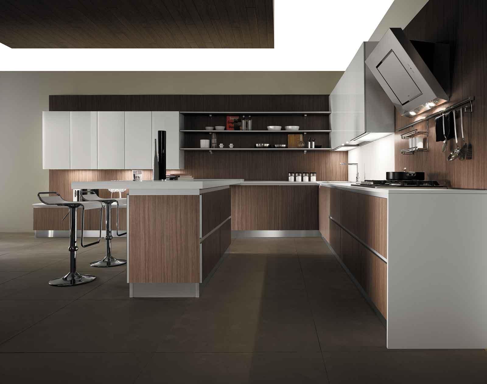 Cucine con elementi a boiserie cose di casa - Cucine mobilturi ...