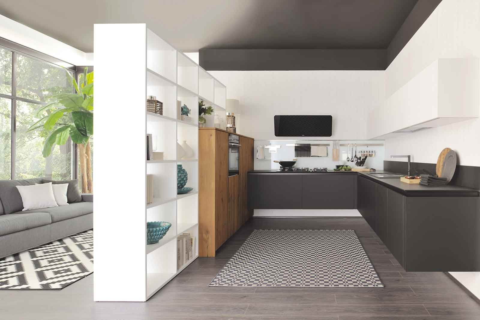 Cucina e soggiorno in un unico ambiente 3 stili cose di - Mobili contemporaneo moderno ...