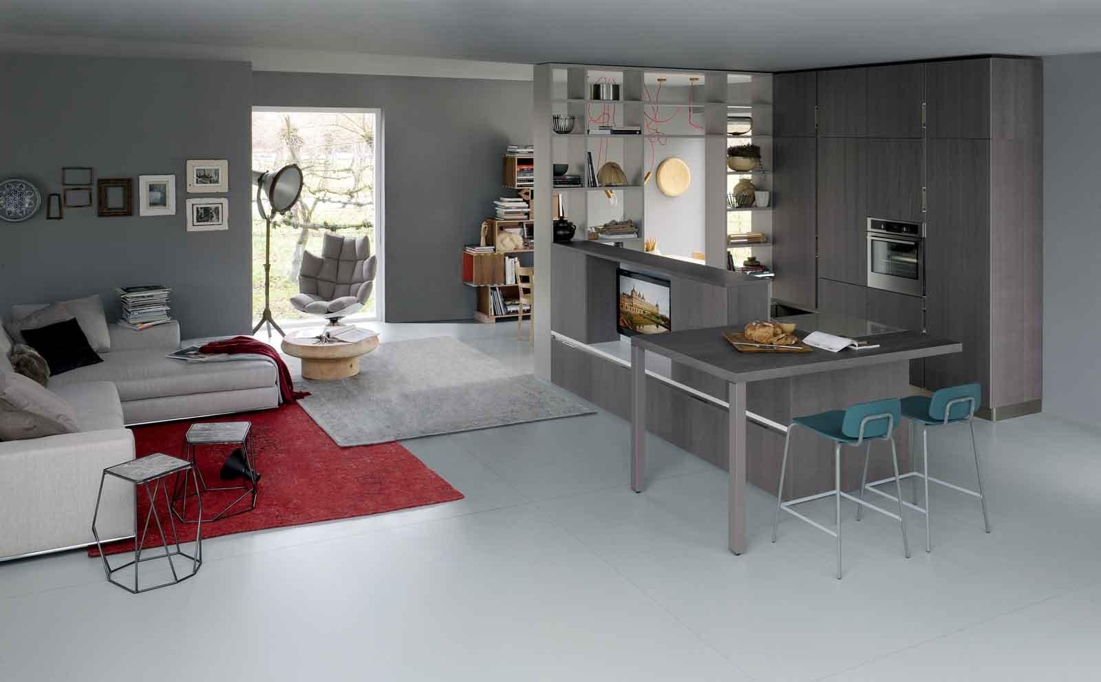 100+ [ arredare cucina e soggiorno insieme ] | divano cucina su ... - Soggiorno Living Con Cucina A Vista 2