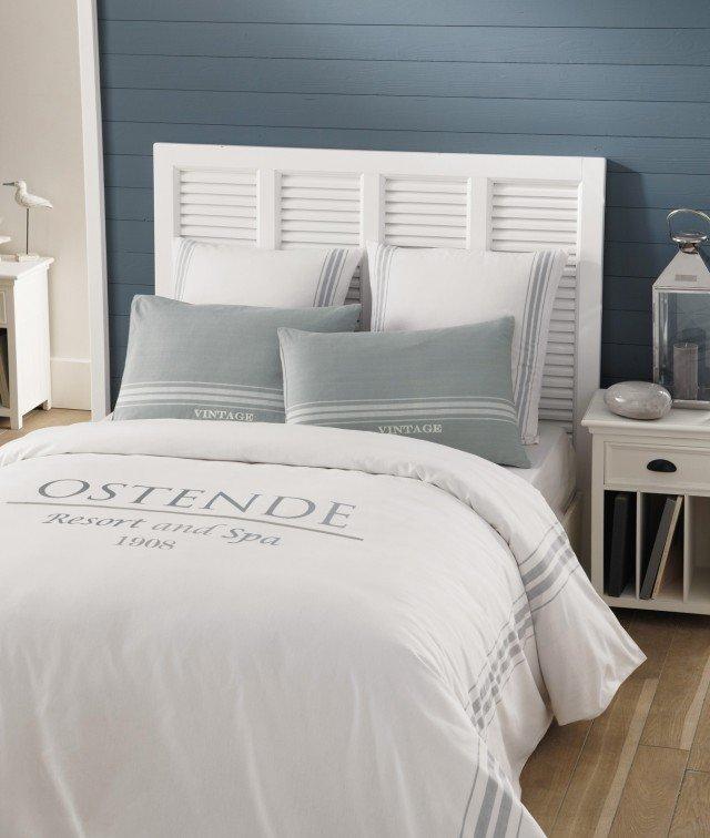 Biancheria dallo stile deciso per connotare l 39 ambiente in modo netto cose di casa - Maison du monde letto ...