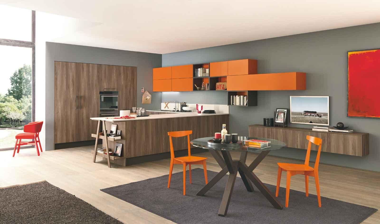 cucina e soggiorno in un unico ambiente: 3 stili - cose di casa - Ambiente Unico Cucina Salotto 2