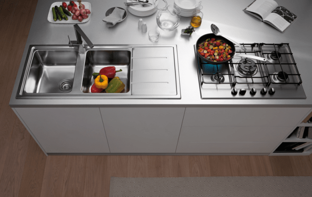 Lavelli da cucina in materiali diversi - Mobili Giardina ...