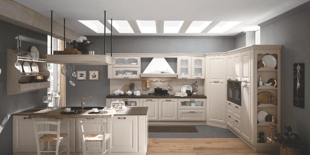 Cucina classica o moderna: la funzionalità dipende dall'attrezzatura