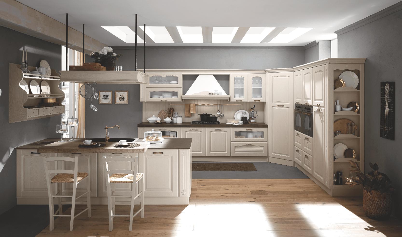 cucina classica o moderna: la funzionalità dipende dall ... - Cose Di Casa Cucine