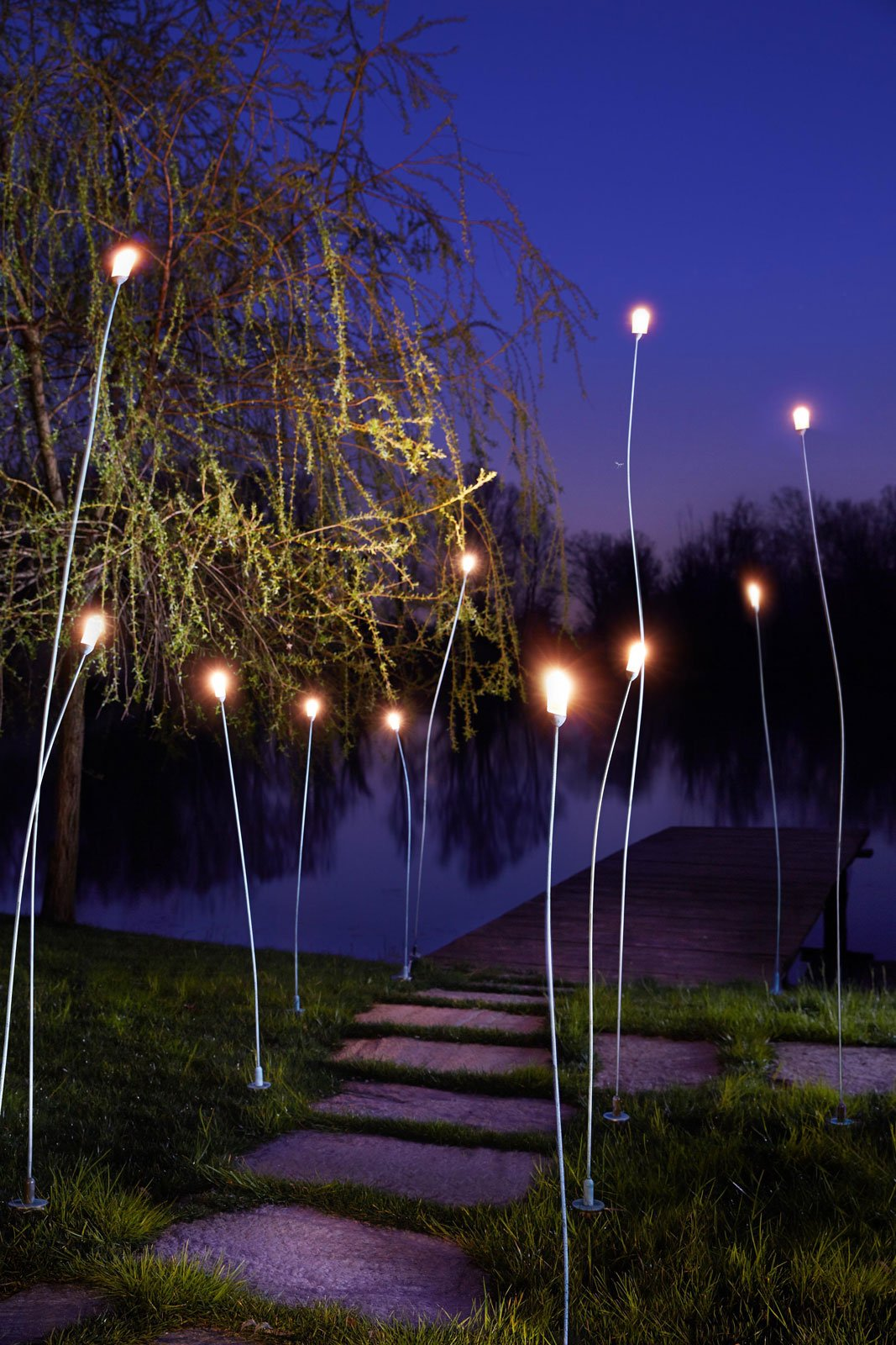 Lampade e luci per esterni cose di casa for Luminaire outdoor design