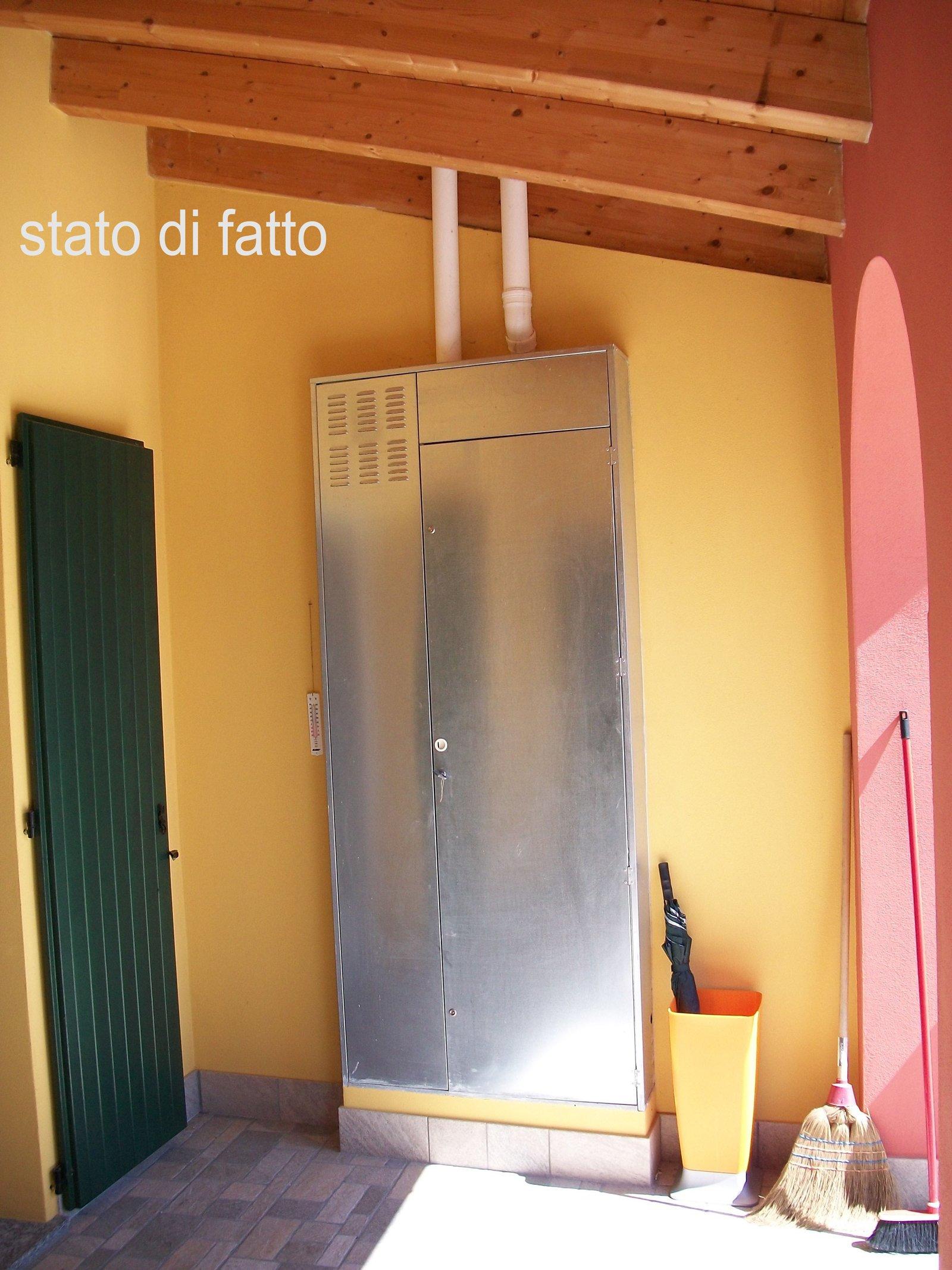 Come mimetizzare la caldaia esterna cose di casa for Calcolatrice personalizzata per la casa