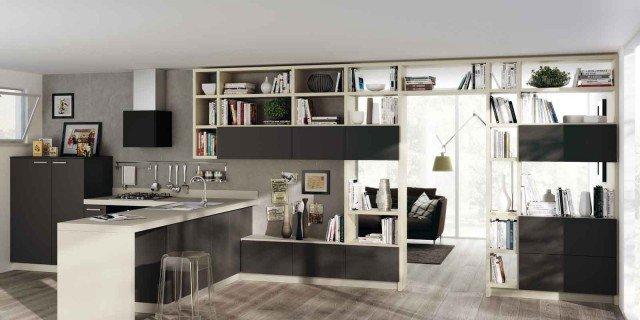 cucina e soggiorno in un unico ambiente: 3 stili - cose di casa - Idee Ambiente Unico Cucina Soggiorno