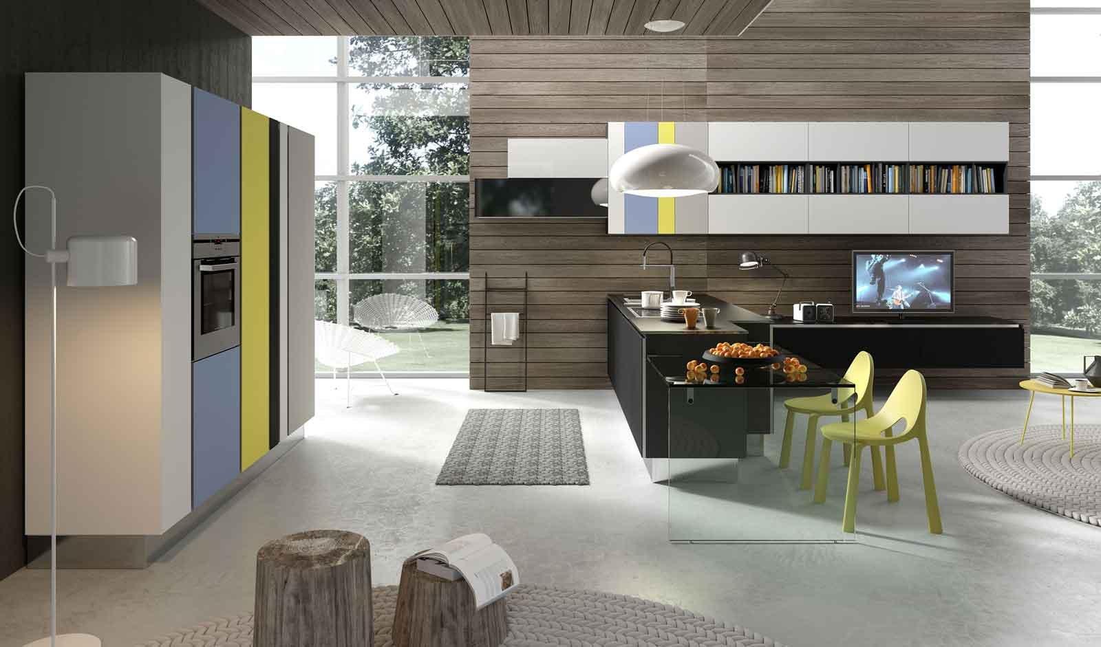 Cucina e soggiorno in un unico ambiente 3 stili cose di - Cucina e soggiorno ambiente unico ...