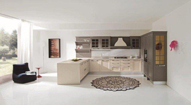 Cucine con elementi a boiserie cose di casa - Cucine color avorio ...