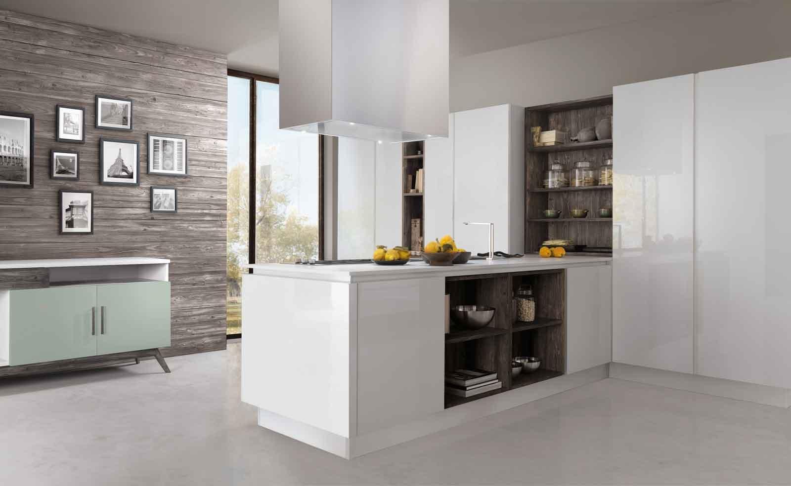 Cucine con elementi a boiserie cose di casa - Immagini di cucina ...