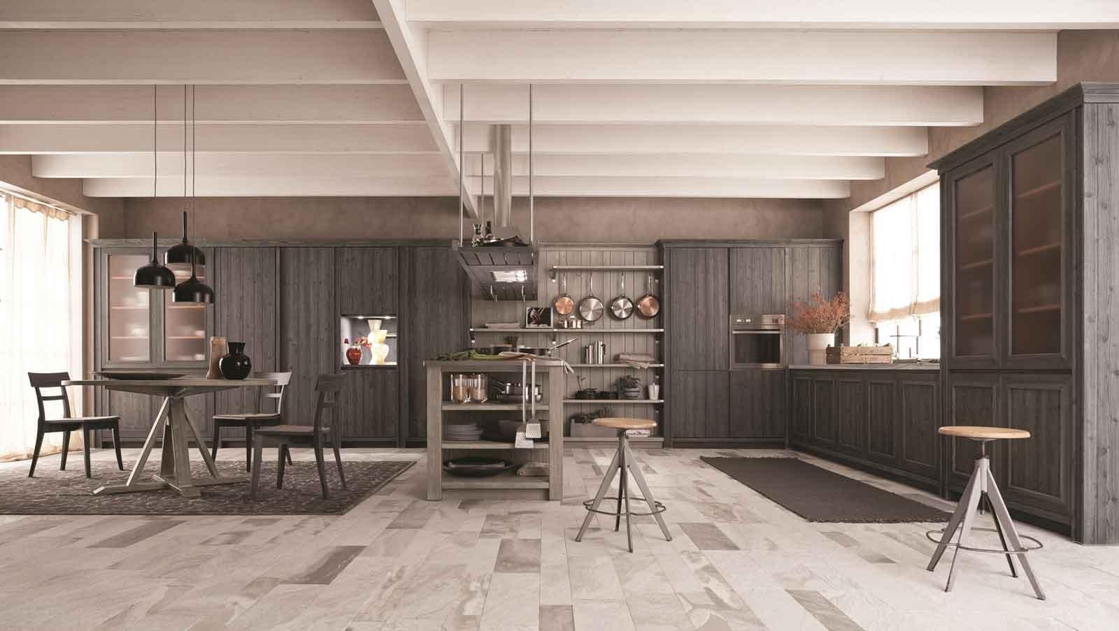 Idee cucina soggiorno ambiente unico – triseb