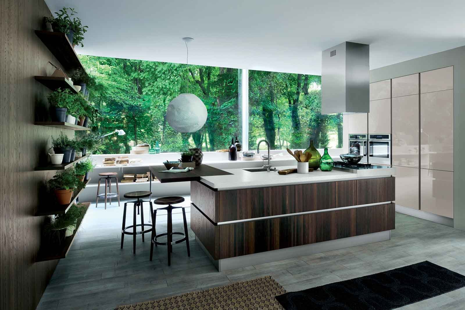 cucine con elementi a boiserie cose di casa. Black Bedroom Furniture Sets. Home Design Ideas